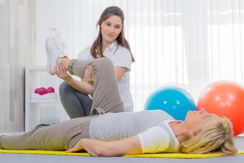 Behandeling van klachten aan heup, knie en/of voet