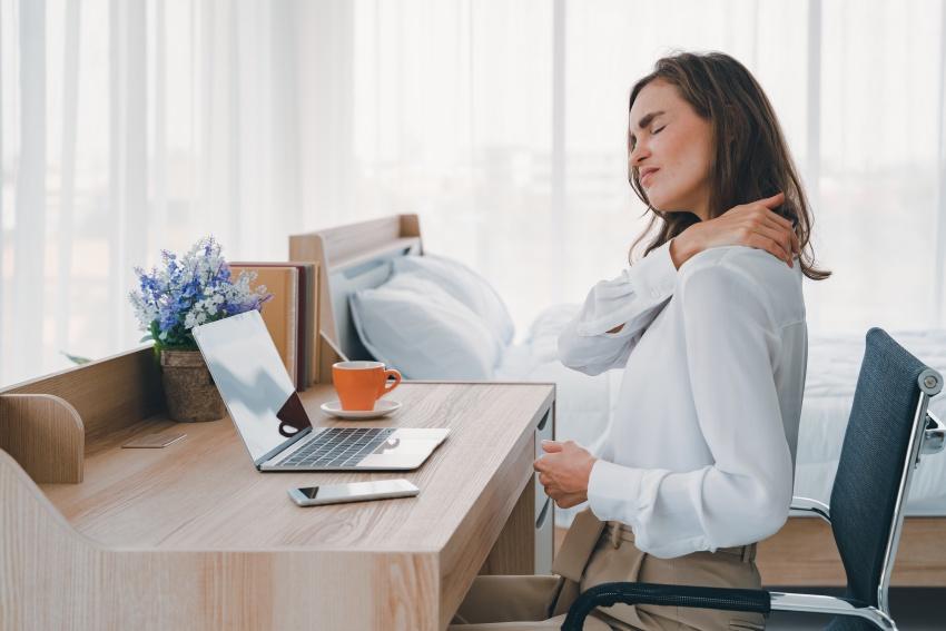 Overbelasting van nek en schouders